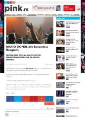 0102 - pink.rs - MARIO BIONDI, dva koncerta u Beogradu