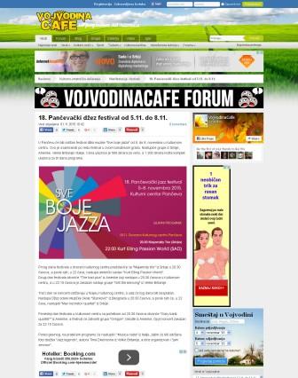 0111 - VojvodinaCafe.rs - 18. Pancevacki dzez festival od 5.11. do 8.11.