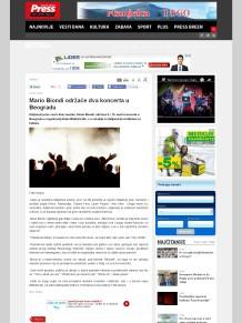 0202 - pressonline.rs - Mario Biondi odrzace dva koncerta u Beogradu