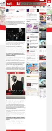0303 - blic.rs - Mario Biondi- Raduje me sto me vole i cene u Beogradu