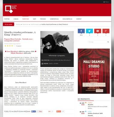 0310 - kulturnicentarpanceva.rs - Muzicko-vizuelni performans A. Klang (Pancevo)