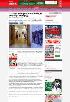 0412 - novosti.rs - Izlozba italijanskog nakita 11. decembra u Beogradu