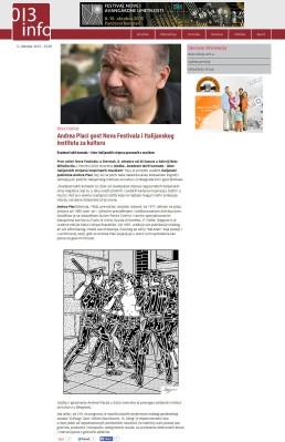0510 - 013info.rs - Andrea Placi gost Nova Festivala i Italijanskog instituta za kulturu