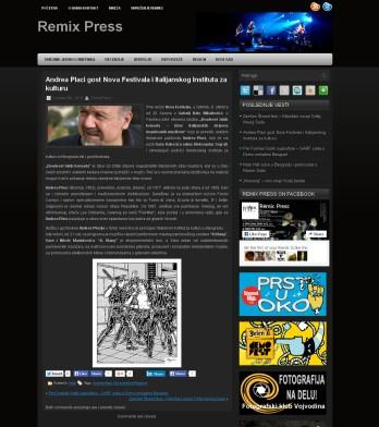 0510 - remixpress.com - Andrea Placi gost Nova Festivala i Italijanskog Instituta za kulturu