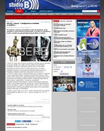 0603 - StudioB.rs - Izlozba Libere u Italijanskom institutu za kulturu