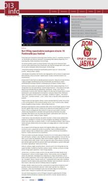 0611 - 013info.rs - Kurt Elling maestralnim nastupom otvorio 18. Pancevacki jazz festival