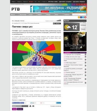 0611 - rtv.rs - Pancevo svira dzez