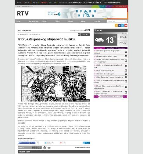 0710 - rtv.rs - Istorija italijanskog stripa kroz muziku