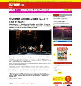0803 - informer.rs - SEST DANA MAGICNE MUZIKE Poceo 17. Gitar art festival