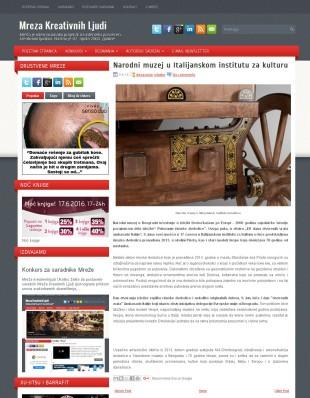 0806 - mrezakreativnihljudi.com - Narodni muzej u Italijanskom institutu za kulturu