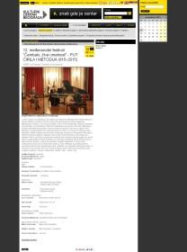 0811 - kcb.org.rs - 12. medjunarodni festival Cembalo, ziva umetnost - PUT CIRILA I METODIJA