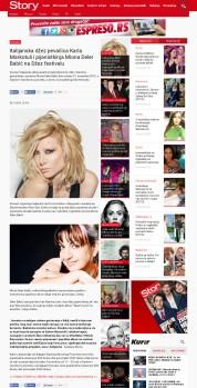 0811 - story.rs - Italijanska dzez pevacica Karla Markotuli i pijanistkinja Miona Deler Babic na Dzez festivalu
