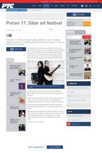 0903 - rts.rs - Poceo 17. Gitar art festival