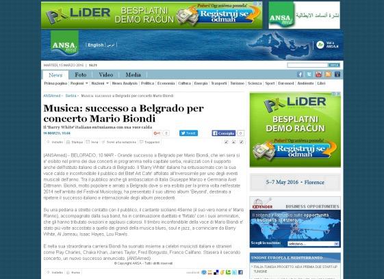 1003 - ansamed.info - Musica- successo a Belgrado per concerto Mario Biondi