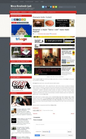 1011 - mrezakreativnihljudi.com - Razgovor o knjizi Vatra i cvet Ivane Hadzi Popovic