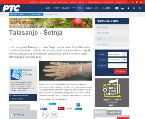 1101 - rts.rs - Talasanje - Setnja