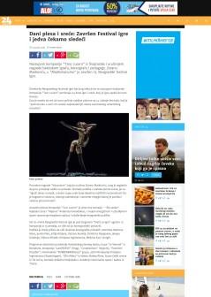 1104 - 24sata.rs - Dani plesa i srece- Zavrsen Festival igre i jedva cekamo sledeci