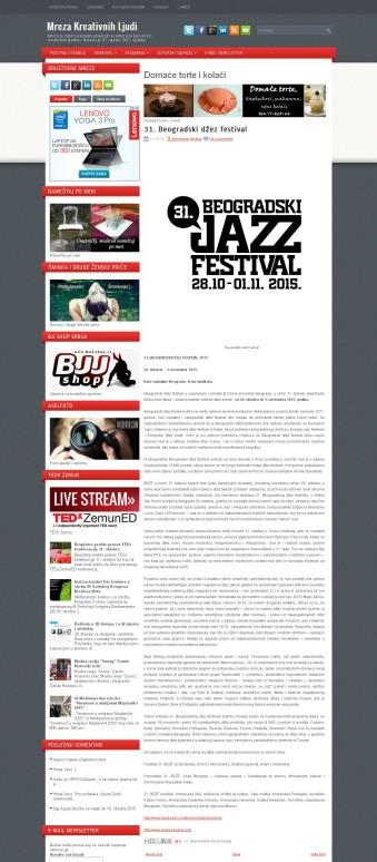 1110 - mrezakreativnihljudi.com - 31. Beogradski dzez festival