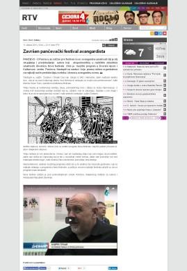 1110 - rtv.rs - Zavrsen pancevački festival avangardista