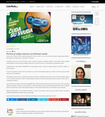 1211 - lookerweekly.com - Pocelaprodaja ulaznica za Festival nauke
