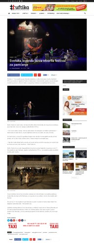 1211 - luftika.rs - Svetska legenda jazza otvorila festival za pamcenje