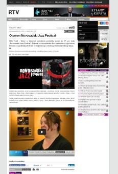 1311 - rtv.rs - Otvoren Novosadski Jazz Festival