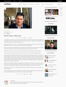 1401 - lookerweekly.com - Klaudio Magris u Beogradu