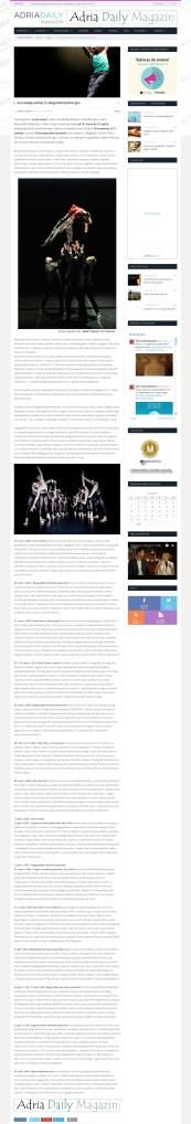 1403 - adriadaily.com - Ove nedelje pocinje 13. Beogradski festival igre