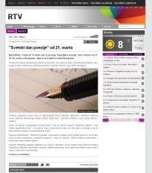 1503 - rtv.rs - Svetski dan poezije od 21. marta