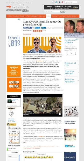 1505 - bubuinfo.rs - Comedy Fest ispravlja nepravdu prema komediji