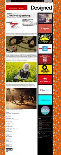 2001 - designed.rs - 12. Festival evropskog dugometraznog dokumentarnog filma 7 velicanstvenih