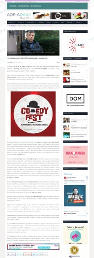 2005 - adriadaily.com - Prvi Medjunarodni festival filmske komedije – Comedy Fest