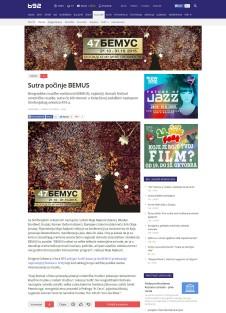 2010 - b92.net - Sutra pocinje BEMUS
