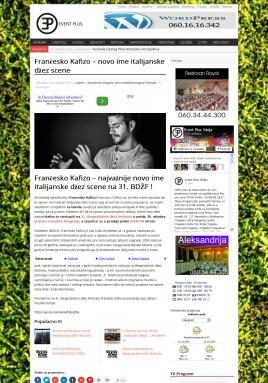 2010 - eventplus.rs - Francesko Kafizo - novo ime italijanske dzez scene