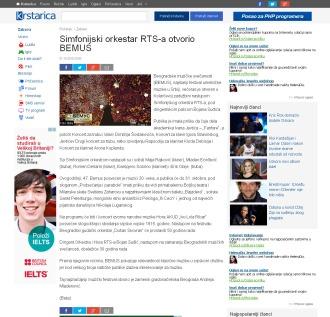 2110 - krstarica.com - Simfonijski orkestar RTS-a otvorio BEMUS