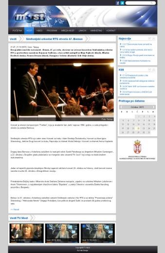 2110 - tvmost.info - Simfonijski orkestar RTS otvorio 47. Bemus