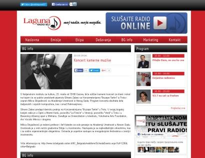 2203 - radiolaguna.rs - Koncert kamerne muzike