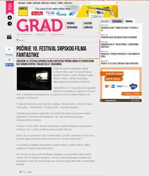2411 - casopisgrad.com - Pocinje 10. Festival srpskog filma fantastike