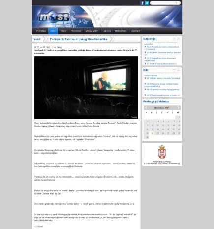 2411 - tvmost.info - Pocinje 10. Festival srpskog filma fantastike