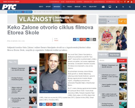 2503 - rts.rs - Keko Zalone otvorio ciklus filmova Etorea Skole