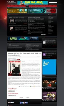 2601 - atastars.rs - Italijanski princ soul i dzez muzike, Mario Biondi, na cak dva koncerta u Beogradu