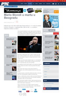2601 - rts.rs - Mario Biondi u martu u Beogradu