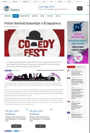 2605 - ikragujevac.com - Poceo festival komedije u Kragujevcu
