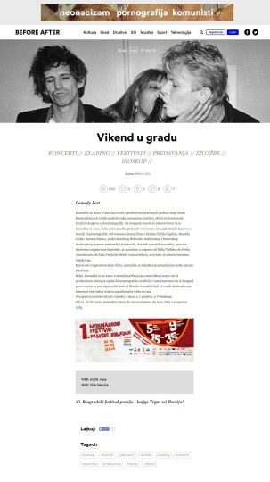 2705 - beforeafter.rs - Vikend u gradu - Comedy fest