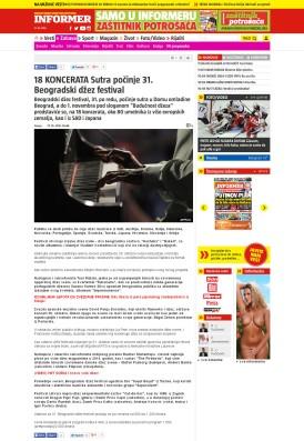 2710 - informer.rs - 18 KONCERATA Sutra pocinje 31. Beogradski dzez festival