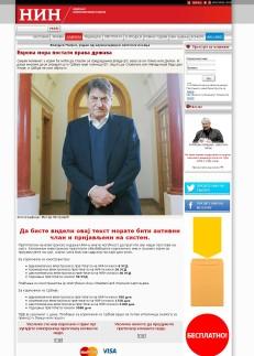 2801 - nin.co.rs - Evropa mora postati prava drzava