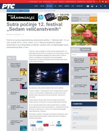 2801 - rts.rs - Sutra pocinje 12. festival Sedam velicanstvenih