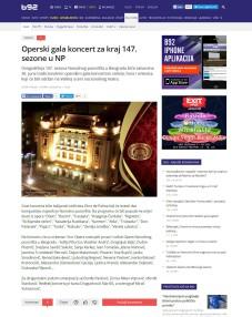 2806 - b92.net - Operski gala koncert za kraj 147. sezone u NP