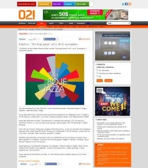 3010 - 021.rs - Pancevo- Sve boje jazza od 5. do 8. novembra