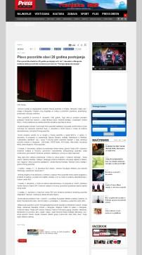 3011 - pressonline.rs - Plavo pozoriste slavi 20 godina postojanja